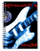 Garcia In Space Spiral Notebook