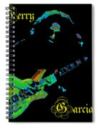 Garcia Rocks At Winterland 1977 Spiral Notebook