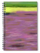 Garden Abstract Spiral Notebook
