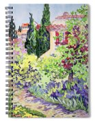 Garden At Vaison Spiral Notebook