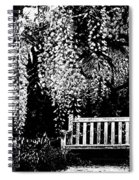Garden Bench  By Zina Zinchik Spiral Notebook