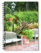 Garden Benches 7 Spiral Notebook