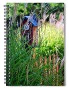 Garden Birdhouse Spiral Notebook