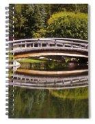 Garden Bridge Spiral Notebook