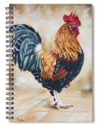 Garden Center's Rooster Spiral Notebook