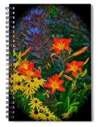 Garden Color Delight Spiral Notebook