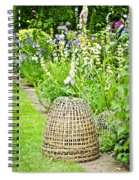 Garden Decoration Spiral Notebook