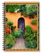 Garden Delights Mesilla Spiral Notebook