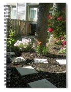 Garden Entrance Spiral Notebook