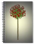 Garden Flowers 4 Spiral Notebook