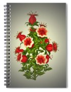 Garden Flowers 8 Spiral Notebook