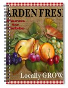 Garden Fresh-jp2386 Spiral Notebook