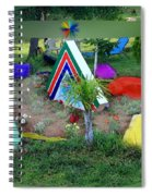 Garden Galaxy Spiral Notebook