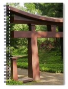 Garden Gateway Spiral Notebook