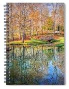 Garden Gazebo Spiral Notebook