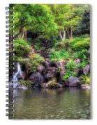 Garden Green Spiral Notebook