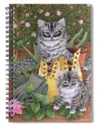 Garden Helpers  Spiral Notebook