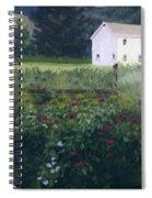 Garden In The Back Spiral Notebook