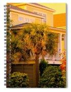 Garden Light At Isle Of Palms Spiral Notebook