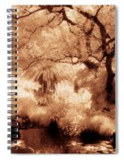 Garden Lily Pond Spiral Notebook