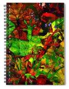Garden Lizard Spiral Notebook