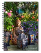 Garden Meditation Spiral Notebook