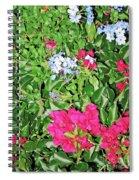 Garden Of Austria Spiral Notebook
