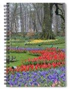 Garden Of Eden Spiral Notebook