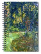 Garden Of Giverny Spiral Notebook