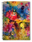 Garden Of Heavenly And Earthly Delights Spiral Notebook