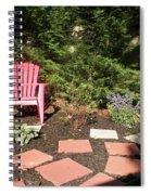 Garden Of One Spiral Notebook
