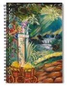 Garden Of Serenity Beyond Spiral Notebook