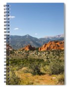 Garden Of The Gods And Pikes Peak - Colorado Springs Spiral Notebook