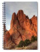 Garden Of The Gods Colorado Spiral Notebook