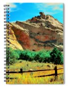 Garden Of The God's-colorado Spiral Notebook