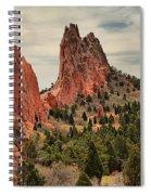 Garden Of The Gods Jagged Peaks Spiral Notebook