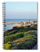 Garden Overview - Lyme Regis Spiral Notebook