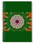 Garden Party #2 Spiral Notebook