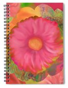 Garden Party II  Spiral Notebook