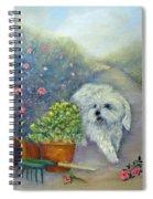 Garden Path Spiral Notebook