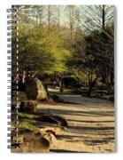 Garden Pathway Spiral Notebook