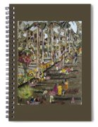 Garden Picnic Spiral Notebook