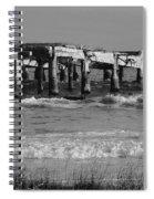 Garden Pier Atlantic City Spiral Notebook