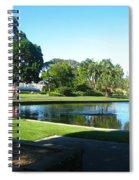 Sydney Botanical Garden Lake Spiral Notebook