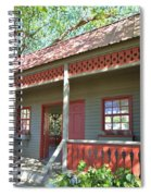 Garden Porch At Calloway Gardens Spiral Notebook