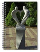 Garden Sculpture Spiral Notebook