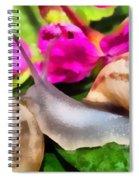 Garden Snails Spiral Notebook