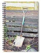 Garden Spade Spiral Notebook