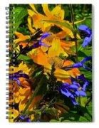 Garden Splash Spiral Notebook