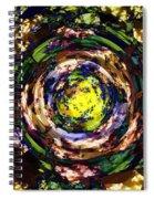 Garden Sun Spiral Notebook